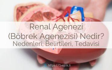 Renal Agenezi (Böbrek Agenezisi) Nedir? Nedenleri, Belirtileri ve Tedavisi