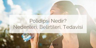 Polidipsi Nedir? Nedenleri, Belirtileri ve Polidipsi Tedavisi